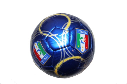 Italia Italy Blue FIGC Logo FIFA World Cup Soccer Ball Size 2.. New by SUPERDAVES SUPERSTORE