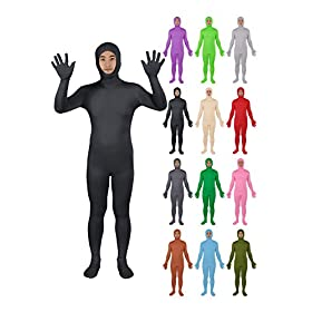 - 41vIGxwnIlL - Sheface Spandex Open Face Zentai Suit Halloween Costumes