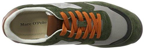 Marc Opolo Herren Sneaker 70724083501302 Grün (oliv Multi)