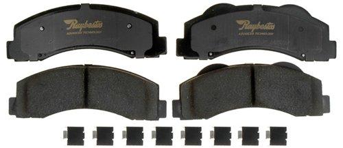 Raybestos ATD1414C Advanced Technology Ceramic Disc Brake Pad Set