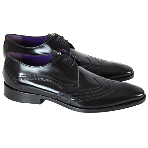 Melvin & Hamilton - Chaussure en cuir Melvin & Hamilton Elvis 10 Noir