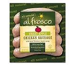 Al Fresco Sweet Apple Chicken Sausage 12 Oz (4 Pack)