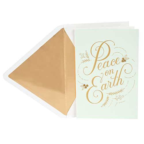 - Hallmark Signature Christmas Card (Peace on Earth)