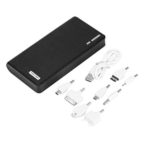 Qulable 50000mAh External Power Bank Backup LED Dual USB Battery Charger for Cellphone