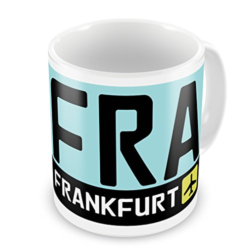 Coffee Mug Airport code FRA/Frankfurt country: Germany - ()