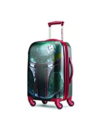 American Tourister Disney Star Wars All Ages 21-Inch Spinner Carry-On Expandable, Boba Fett, International Carry-On
