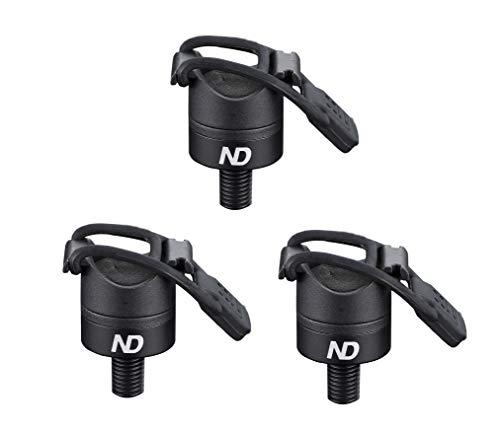 New Direction Tackle 3 x magnetische Butt Rest P8 für Karpfenangeln, 3 Stück