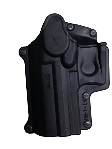 Fobus Standard Holster Left Hand Hand Belt HK1LHBH H&K Compact & USP 9mm/40 & 45, Full Size 9mm/40 / S&W Sigma Series 9/40 VE/E/G / FN49 / Ruger SR9 / Taurus Millenium .40 (Pro models refer to SP11B) ()