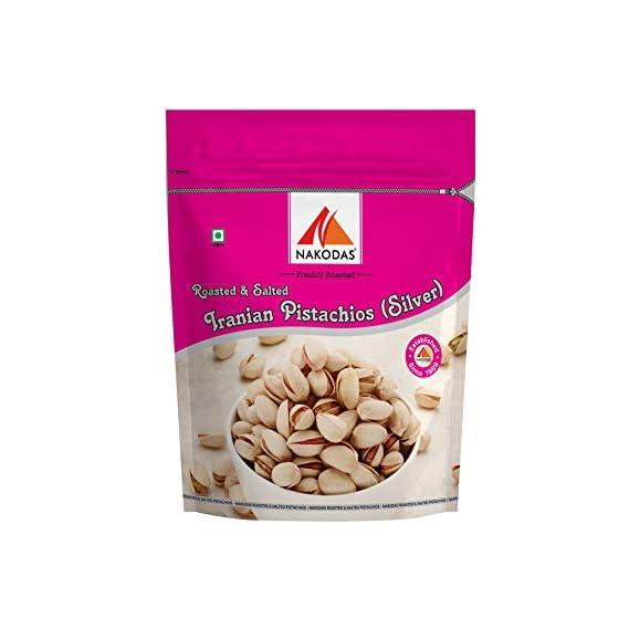 Nakodas N Nakodas Silver Natural and Healthy Irani Pistachios (Pista) 250 gm