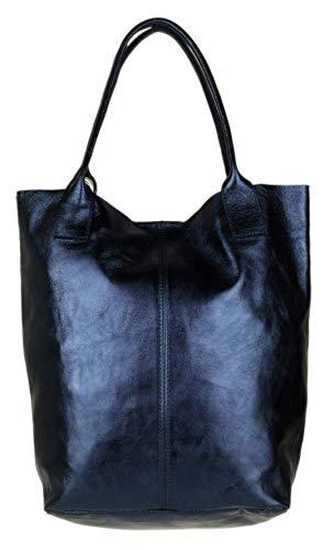 Handbags Al Navy Metallic Hombro Para Sintético De Bolso Mujer Girly Material PqwWxCFEFd