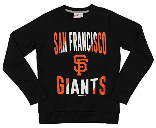 Outerstuff MLB Giants Boys 8-20 Performance Fleece Crew Neck LS TOP ()
