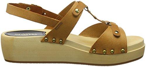 swedish Clog Rivet Nature Women's hasbeens Sandal 0q064w