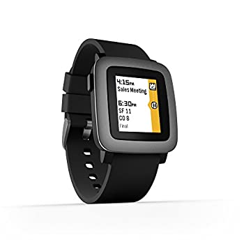 Pebble Time Smartwatch - Black 9