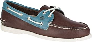 Sperry Mens Authentic Original 2 Eye Color Lace Boat Shoe