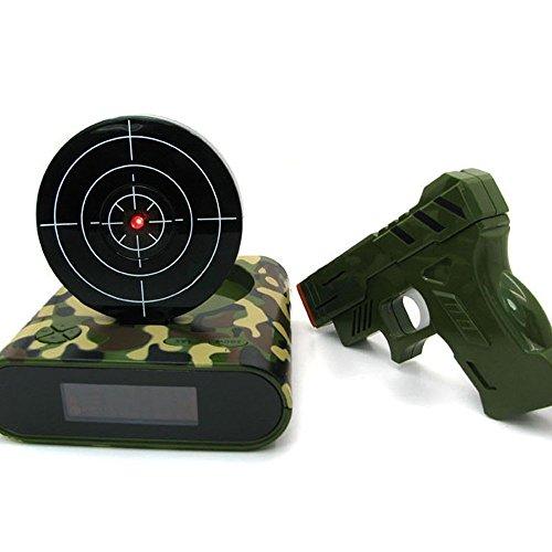 digital-alarm-clockstoga-gvc001-latest-fashion-lock-n-load-gun-alarm-clock-target-gaming-clockgreen