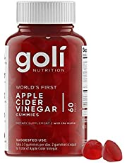 Goli Nutrition Inc. World's First Apple Cider Vinegar Gummy Vitamins (1)