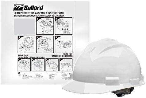 Bullard HH61WHR-VPD6 4-Point Ratchet Suspension Cap Style