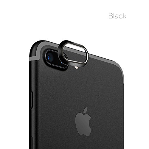TitanFan Camera Lens Protective Case Cover for Apple iPhone 7 Plus 5.5 Inch (Black)