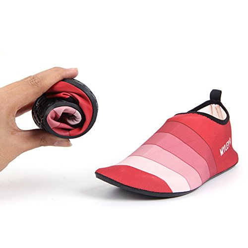Red Yoga Dance Womens Surf Beach Shoes Water Men Boots Men Moresave Pool 2 Swimming Shoes Shoes 6Tawxn4qP