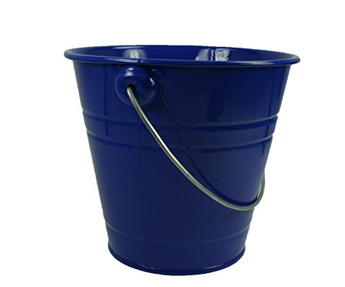 1 Metal Pail Buckets with Handle Party Favor 5-1/2