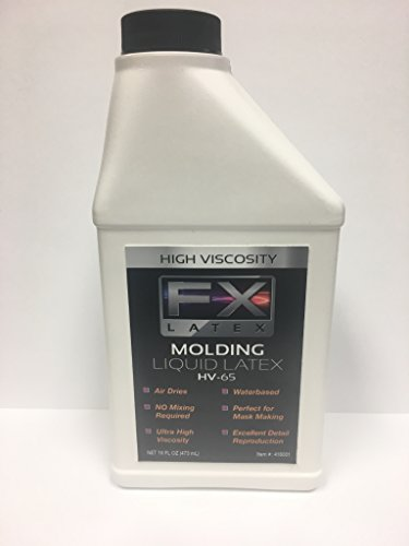 HV-65 Pint of High Viscosity Natural Liquid Latex Mold Making Rubber
