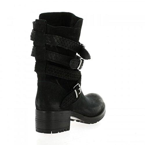 Nubuck Pao Pao Boots Noir Noir Pao Cuir Cuir Boots Nubuck Cuir Boots qrX0wX8I
