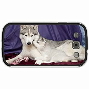 New Style Customized Back Cover Case For Samsung Galaxy S3 Hardshell Case, Black Back Cover Design Dog Personalized Unique Case For Samsung S3