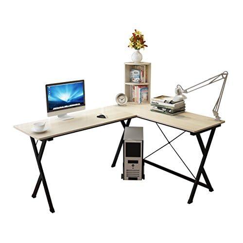 chic Soges Bureau d\'Angle Ordinateur Bureau Informatique Table ...