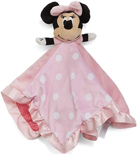 Disney Baby Minnie Mouse Plush Stuffed Blanket