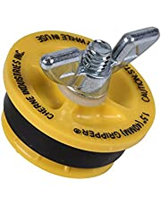 """Cherne 270210 End of Pipe Gripper Mechanical Plug 1-1/2"""", Yellow"""