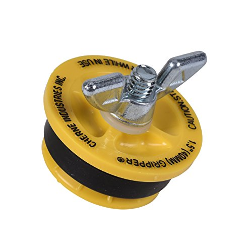 Drain Test - Cherne 270210 End of Pipe Gripper Mechanical Plug 1-1/2