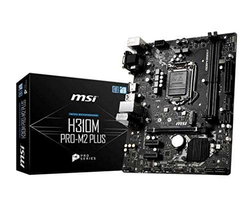 MSI Motherboards H310M PRO-M2 Plus (Motherboard Msi Intel)
