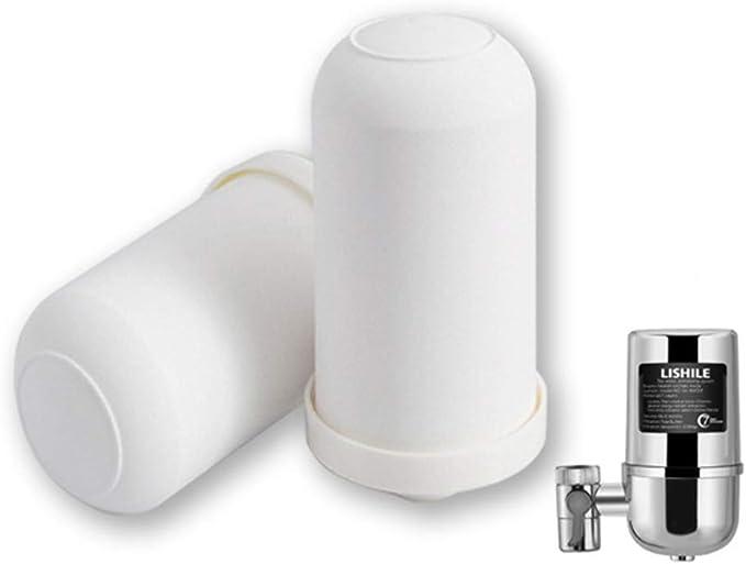 Geagodelia Filtro de Agua para Grifo Purificador Agua Sistema ...