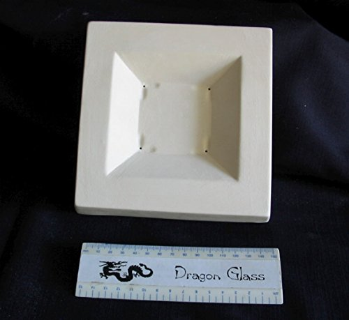 Molds Slumping - Dragon Slumping Mold SQSS Super Small Square Plate