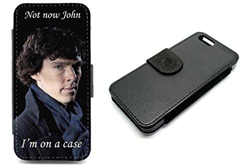 iPhone 5/5S Sherlock Holmes Funny Baker Street Geldbörse Handyhülle