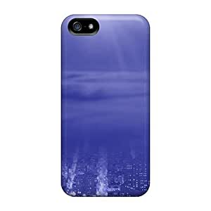 Fashion HWyST8788uYyiC For HTC One M9 Phone Case Cover (city Blue)