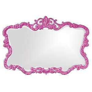Howard Elliott 21183HP Talida Mirror, Hot Pink