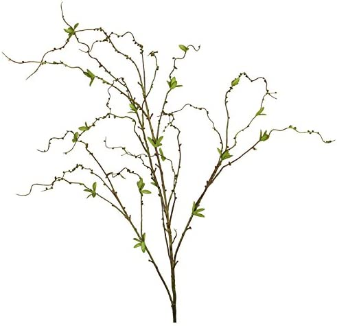 Deko Zweig//K/ätzchenweide Zweig 120 cm wei/ß artplants K/ünstlicher Weidenk/ätzchen-Zweig MAGIT