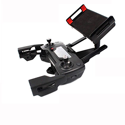 "Hobby-Ace DJI Mavic Pro / Mavic Air / DJI Spark Accessories Remote Controlerl Monitor Holders Bracket for Drone Transimitter Adjustable Holder,Fits Most Cellphones and 7.9 / 9.7 / 10.5""Tablets"