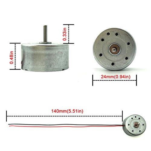 Eudax mini generator motors 3v 12v dc motor electric motor for 12v wind turbine motor
