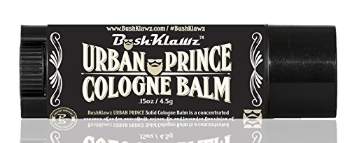 Urban Prince Solid Cologne Balm Fragrance - Refreshing Modern Urban Gentlemans Manly Scent Alcohol Free Cologne for travel Best Gift for Men
