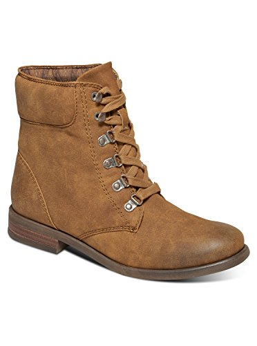 Roxy Women's Fulton Motorcycle Boot, Tan, 9 M US