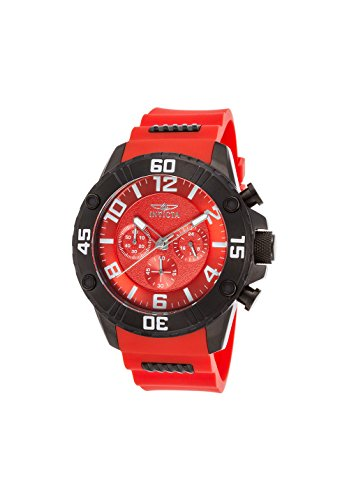 invicta watch red dial - 6