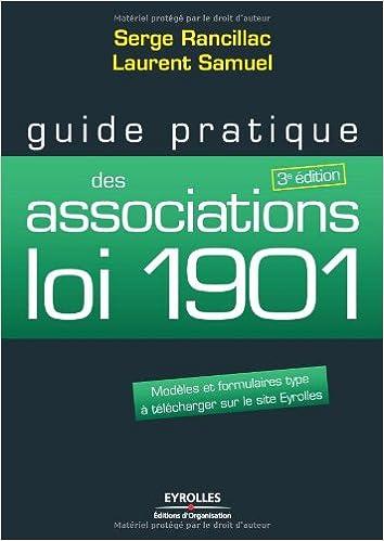 Amazonfr Guide pratique des associations loi 1901 Modles et