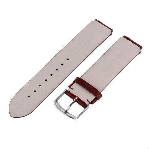 Philip Stein Watch Bands-Strap 2-CIWI 20mm Wine Italian Calf Watch Strap