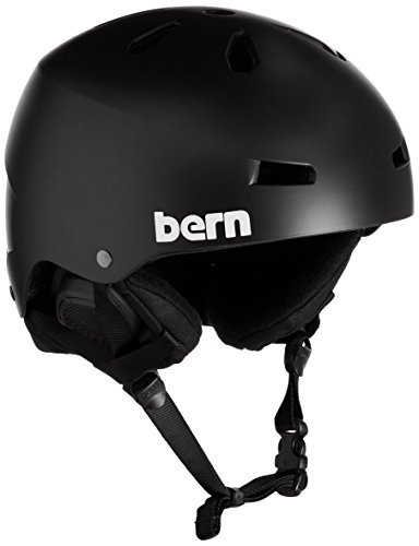 Amazon.com: Bern Macon Thin Shell Invierno Casco con Liner ...