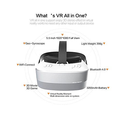 good Caraok 3D VR Virtual Reality Box Headset All in One