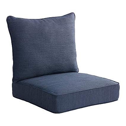 Amazon.com: Allen Roth - Cojín para silla de patio, 2 piezas ...