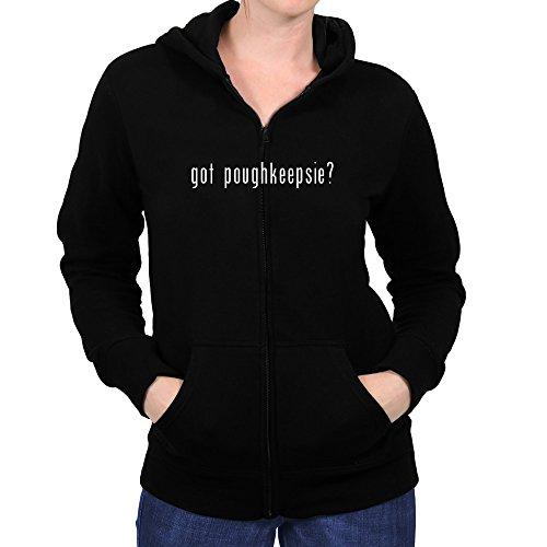 Teeburon Got Poughkeepsie? Women Zip Hoodie (Poughkeepsie Zip)