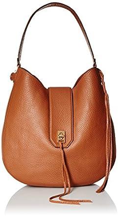 Amazon.com: Rebecca Minkoff Darren Hobo, Almond: Clothing